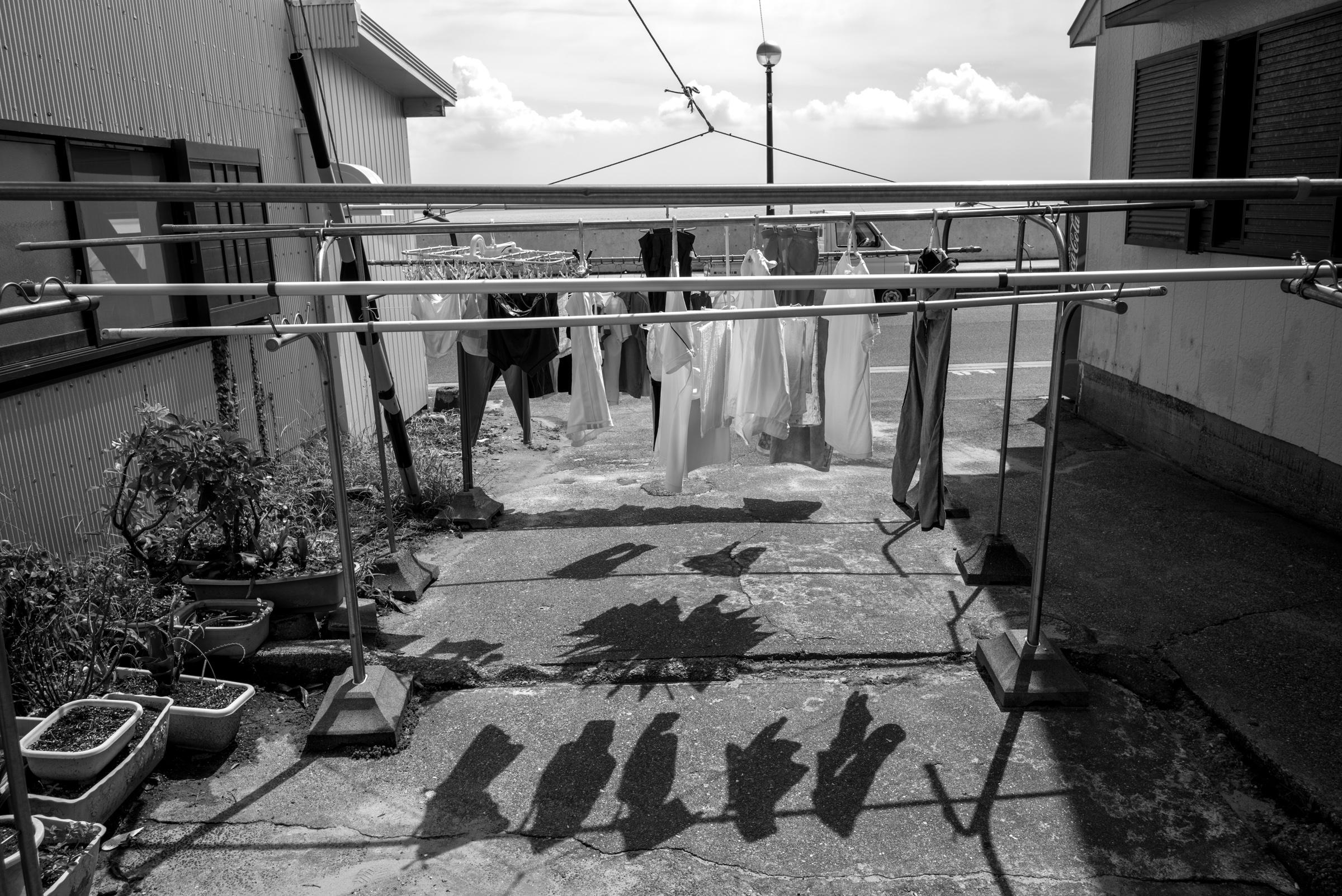 篠島 洗濯物